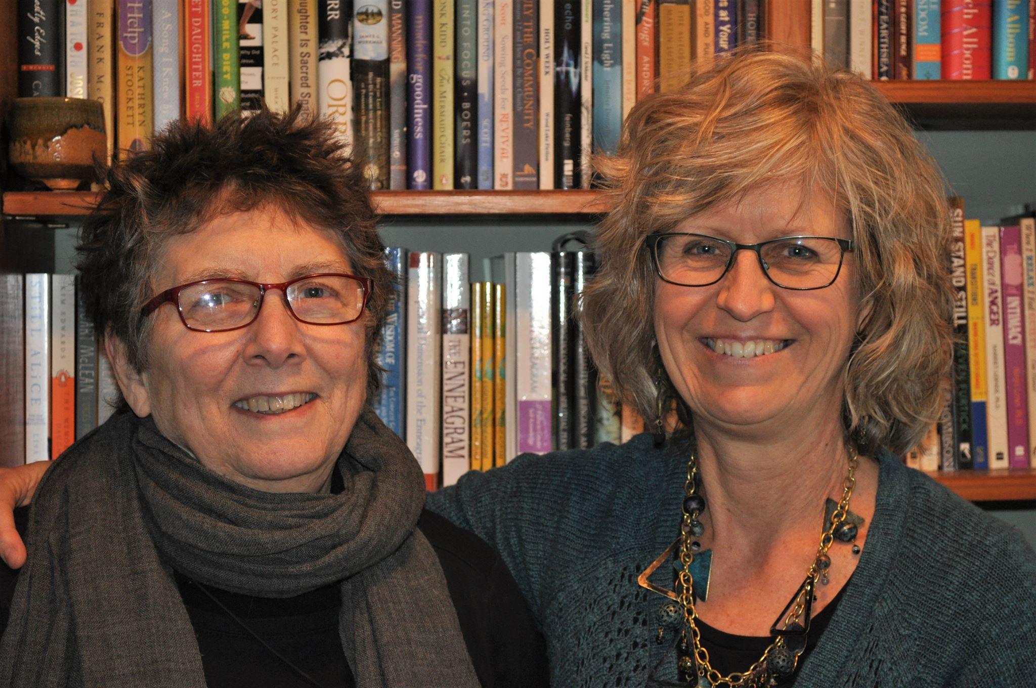 Sue and Cynthia