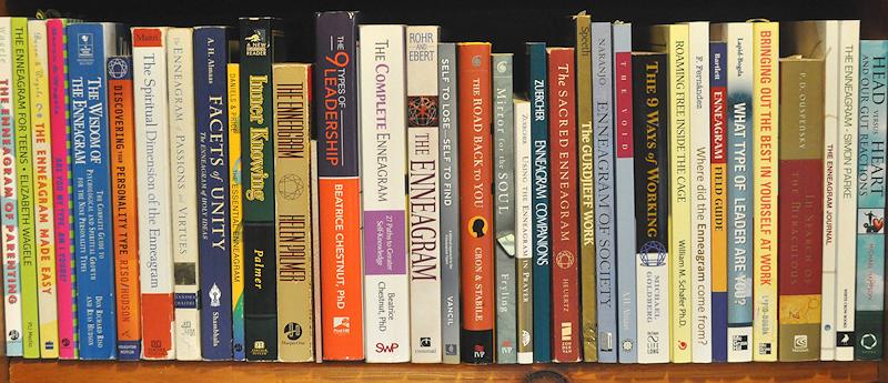 Enneagram bookshelf
